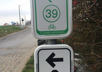 Belgium has an excellent and well-marked cycling network. Why not Colorado?