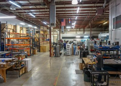 Alchemy occupies part of a warehouse owned by Primal Wear. Rol Wheels is another tenant