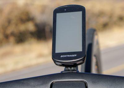 Trek partnered with Garmin for Bontrager-branded Edge 1030 units