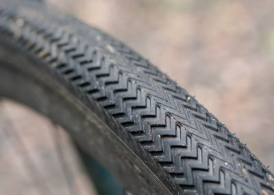 Specialized Sawtooth tires roll fast but offer decent cornering bite