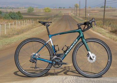 The Diverge ranges from $1,100 to $10,000 models. This is the $6,700 Diverge Pro