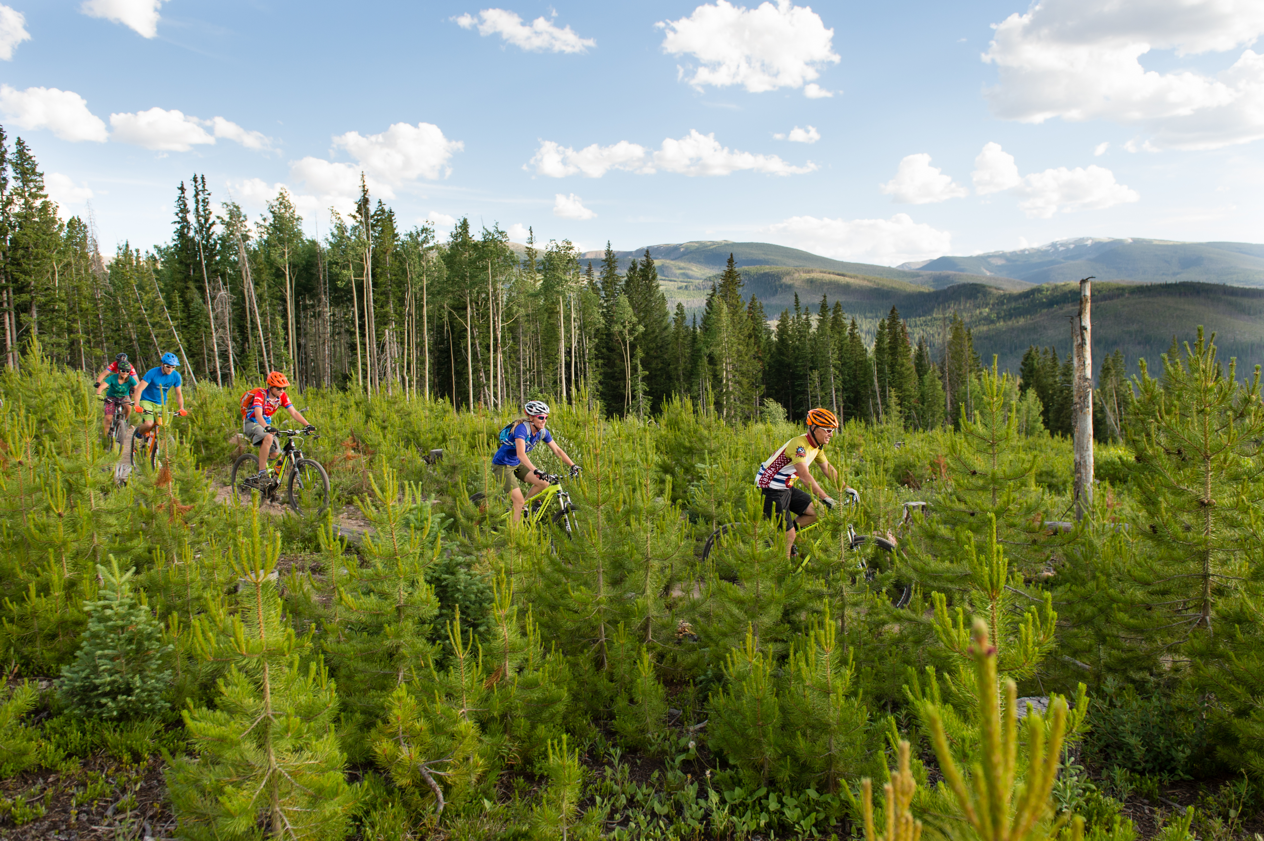 Race the sun in high alpine colorado