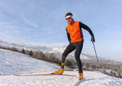 There's nothing wrong with doing winter sports in the winter!